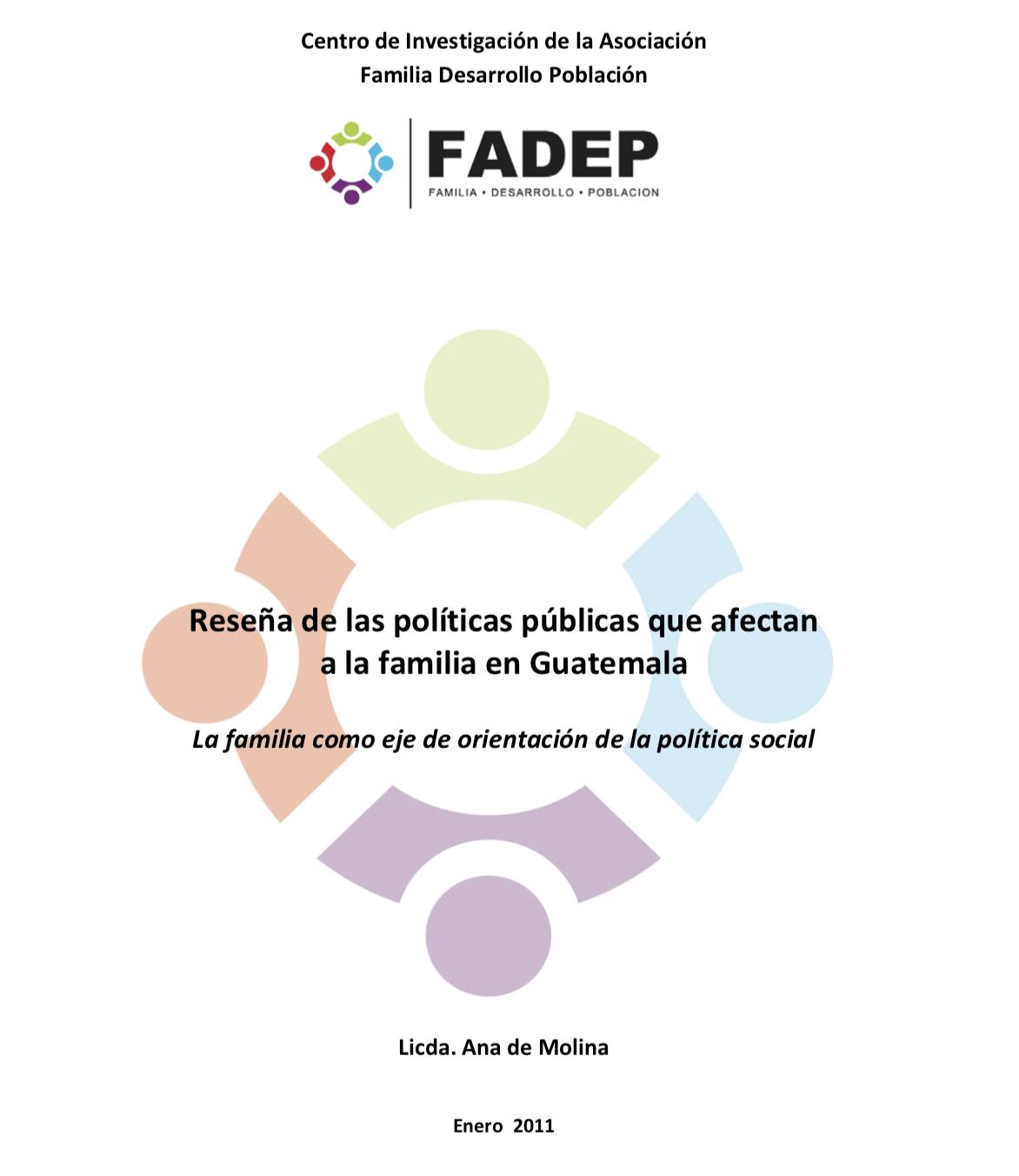 Políticas públicas que afectan a la familia en Guatemala